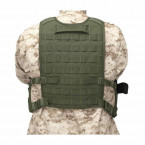 BACK PANEL WARRIOR ASSAULT ELITE OPS VERDE OD 02