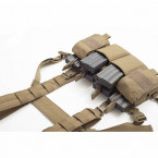 CHALECO CHEST RIG WARRIOR ASSAULT PATHFINDER COYOTE TAN 04