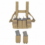 CHALECO CHEST RIG WARRIOR ASSAULT PATHFINDER COYOTE TAN 05
