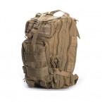 MOCHILA TACTICA MOLLE COMBAT ZONE COMPACT ASSAULT 25L TAN 01