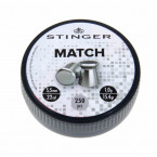 PERDIGON CABEZA PLANA 5.5MM STINGER MATCH 250U 02