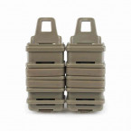PORTACARGADOR FASTMAG DOBLE MP7 OEM TAN 01