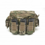 POUCH PORTACARGADOR M4 WARRIOR ASSAULT SINGLE DE DOBLE CAPACIDAD 5.56 MULTICAM 07