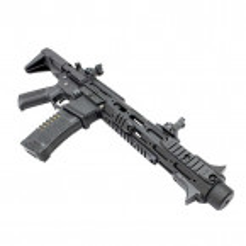 REPLICA AEG M4 ARES AMOEBA AM-013-BK HONEY BADGER NEGRA 02