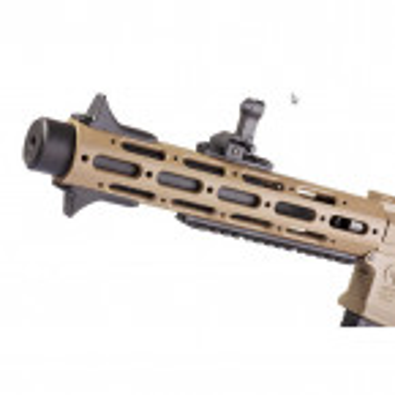 REPLICA AEG M4 ARES AMOEBA AM-013-DE HONEY BADGER TAN 03