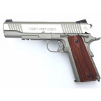 REPLICA CO2 PISTOLA COLT 1911 CYBERGUN PLATA 01